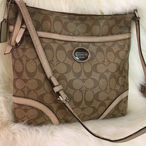 COACH PEYTON Signature HERITAGE File XBody Bag